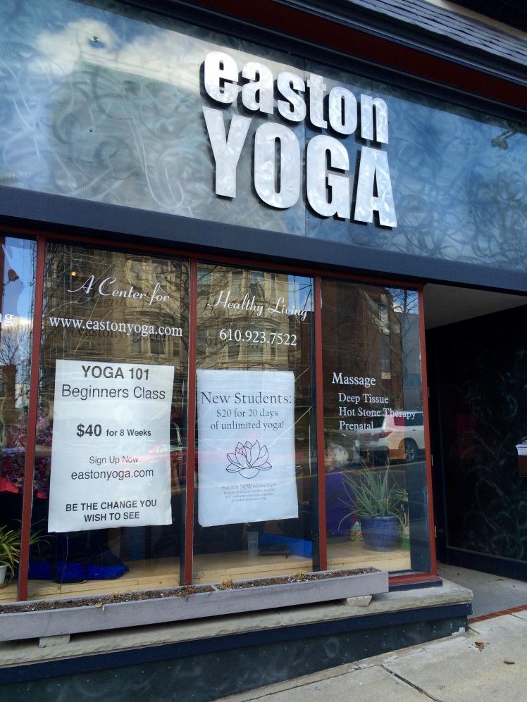 Easton Yoga Community Classes only $5