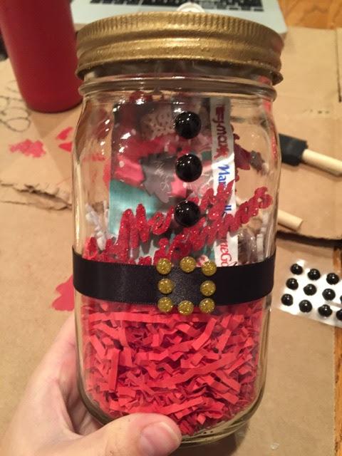 DIY Santa Jar 5